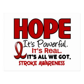 Stroke HOPE 1 Postcards