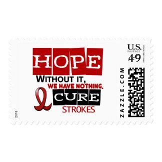 Stroke HOPE 2 Stamp