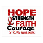 Stroke HOPE 3 Post Card