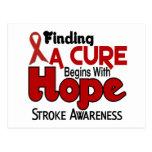 Stroke HOPE 5 Postcard