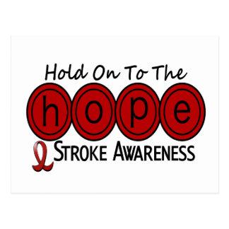 Stroke HOPE 6 Post Card