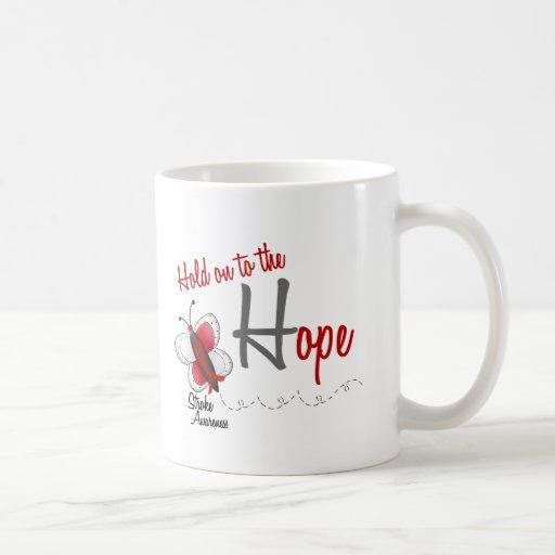 Stroke Hope BUTTERFLY SERIES 2 Classic White Coffee Mug