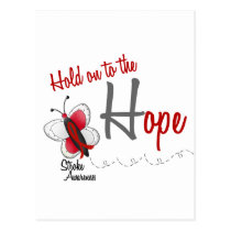 Stroke Hope BUTTERFLY SERIES 2 Postcard