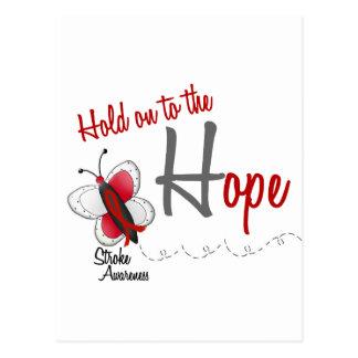 Stroke Hope BUTTERFLY SERIES 2 Postcard
