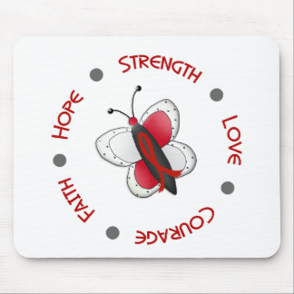 Stroke Hope Faith Courage BUTTERFLY SERIES 2 Mouse Pad