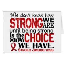 Stroke How Strong We Are Card