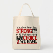 Stroke How Strong We Are Tote Bag