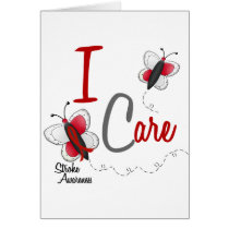 Stroke I Care BUTTERFLY SERIES 2 Card