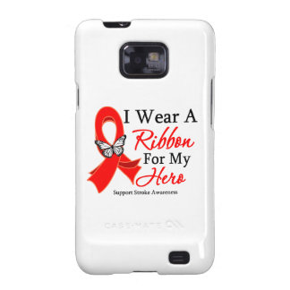 Stroke I Wear a Ribbon For My Hero Galaxy SII Covers