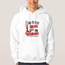 Stroke I WEAR RED FOR MY FATHER-IN-LAW 37 Hoodie