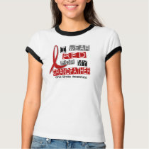 Stroke I WEAR RED FOR MY GRANDFATHER 37 T-Shirt
