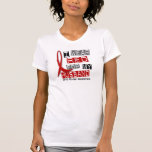 Stroke I WEAR RED FOR MY HUSBAND 37 Tee Shirt