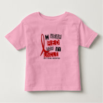 Stroke I WEAR RED FOR MY UNCLE 45 Toddler T-shirt