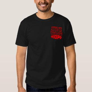 Stroke Living Life with Faith T Shirt