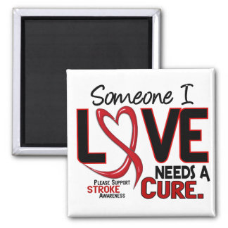 Stroke NEEDS A CURE 2 Magnet