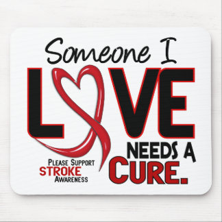 Stroke NEEDS A CURE 2 Mouse Pad