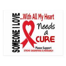 Stroke Needs A Cure 3 Postcard