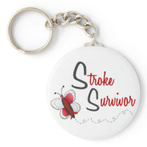 Stroke Survivor BUTTERFLY SERIES 2 Keychain