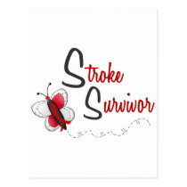 Stroke Survivor BUTTERFLY SERIES 2 Postcard