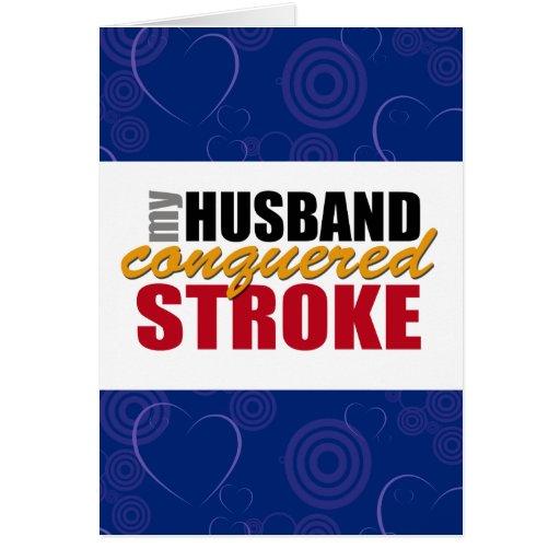Stroke Survivor Husband Thank You Card