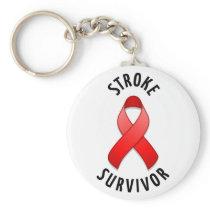 Stroke Survivor Keychain