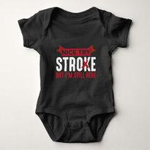 Stroke Survivor Supporter Stroke Awareness Baby Bodysuit