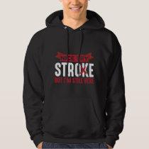 Stroke Survivor Supporter Stroke Awareness Hoodie