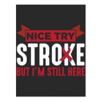 Stroke Survivor Supporter Stroke Awareness Postcard