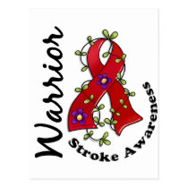 Stroke Warrior 15 Postcard
