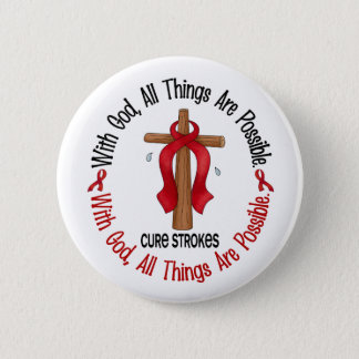 Stroke WITH GOD CROSS 1 Button