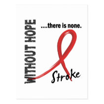 Stroke Without Hope 1 Postcard