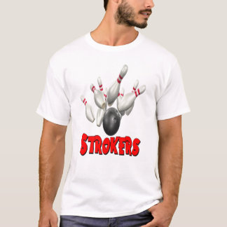 Strokers Bowling T-Shirt