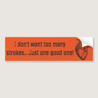 Strokes Bumper Sticker