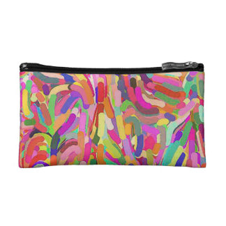 Strokes of Color Makeup Bag
