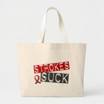 Strokes Suck Large Tote Bag