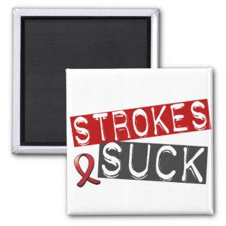 Strokes Suck Fridge Magnets