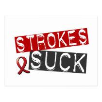 Strokes Suck Postcard
