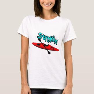 Strokin with Kayak - Lt Apparel T-Shirt