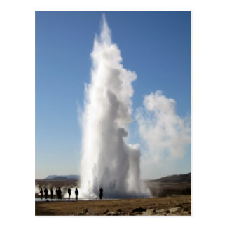 Strokkur- Geyser in Iceland Postcard