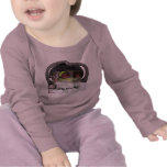 Stroling along infant long sleeved shirt