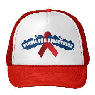 stroll 4 awareness logo copy trucker hat