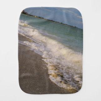 Stroll Along St. Pete Beach Burp Cloth