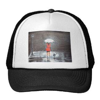 Stroll in the Rain Mesh Hats