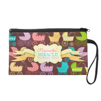"""Stroller Chic """"Miracle Mommy Bag"""" Wristlets"""