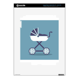 Stroller simplistic iPad 3 skin