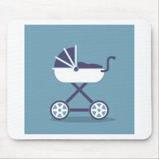 Stroller simplistic mouse pad