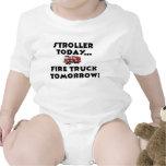 Stroller today...Firetruck tomorrow! T-shirt