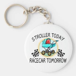 Stroller Today, Racecar Tomorrow Keychain