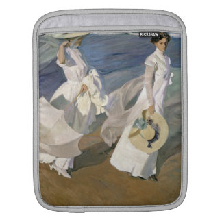 Strolling along the Seashore, 1909 iPad Sleeve