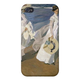 Strolling along the Seashore, 1909 iPhone 4/4S Cover